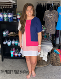 Parker Colorblock Dress