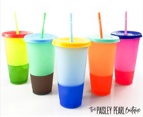 Summer Sippin' Color Changing Tumblers