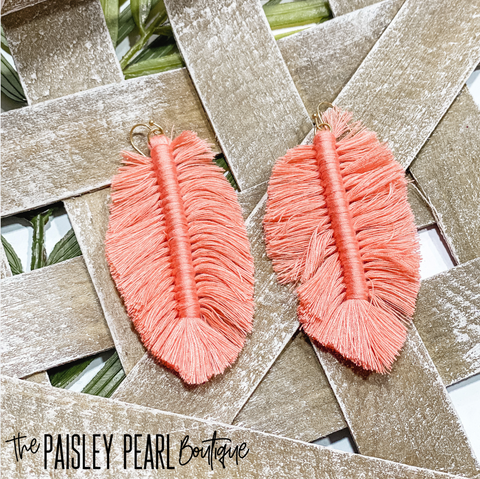 Coral Breeze Earrings