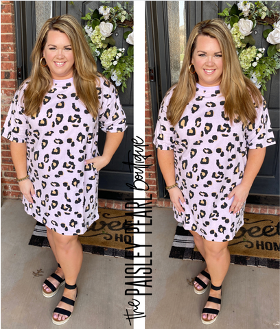 I Choose You Leopard Dress