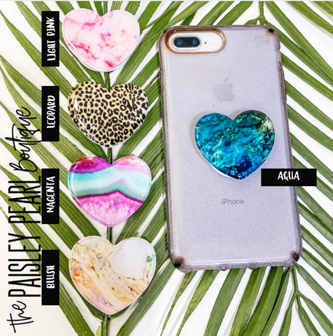 Heart Pop-Sockets