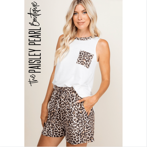 Lyla Leopard Lounge Set