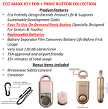 Eco Maxx Portable Personal Security Alarm