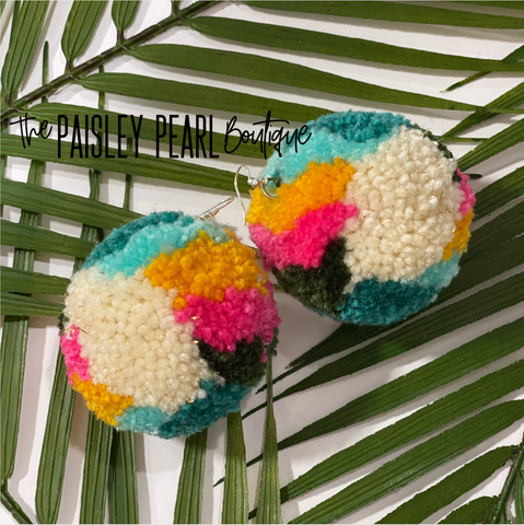 Fiesta Pom Earrings