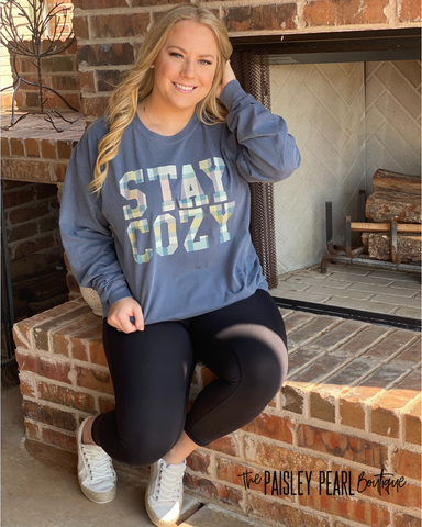 Stay Cozy Longsleeve Top