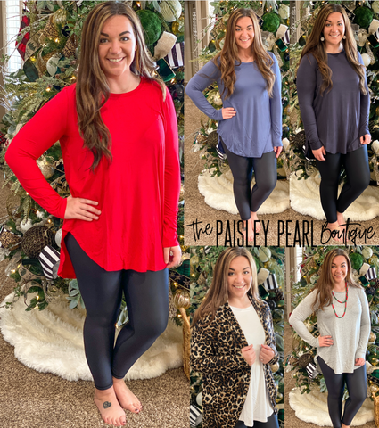 Black Friday STEAL- Everyday Basic Tunic