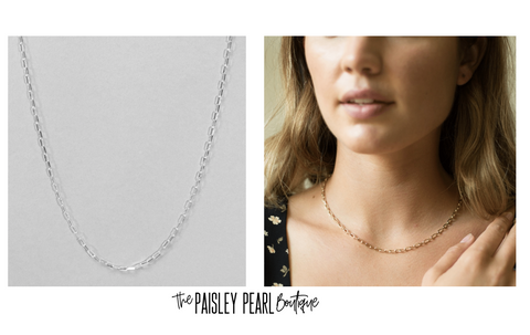 Black Friday STEAL-Paperclip Necklace
