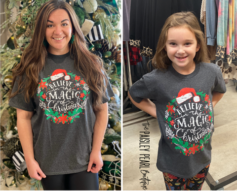 Black Friday STEAL-Christmas Magic Tee (kids & adult)