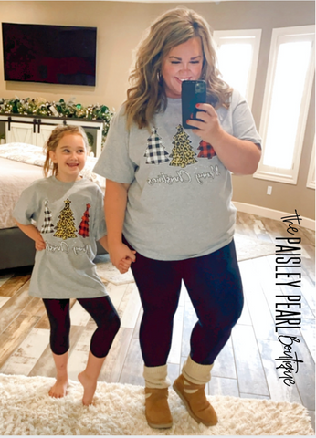 Steal of the Day-Tree Trio Tee (kids & adult)
