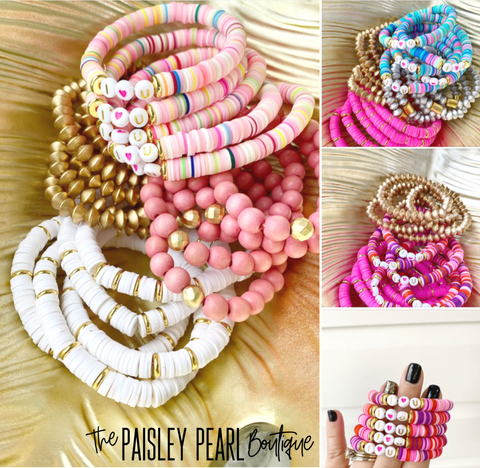 Valentines Color Pop Bracelets