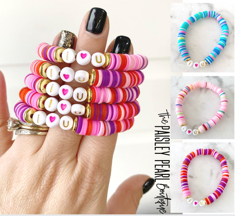 Kids Valentines Color Pop Bracelets