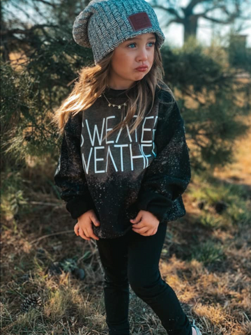 Sweater Weather- Kids Sweathshirt