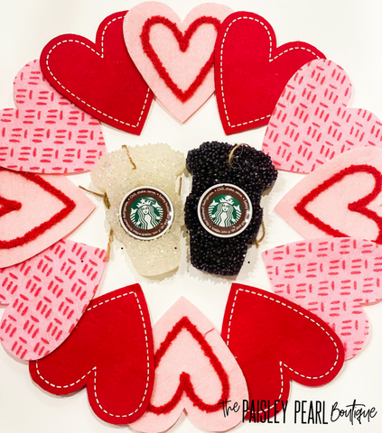 Starbucks Car Candles-5 scents