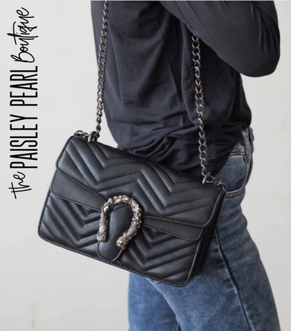 The Brit Purse-Black