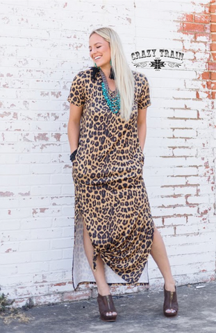 Take it to the Max Leopard Maxi