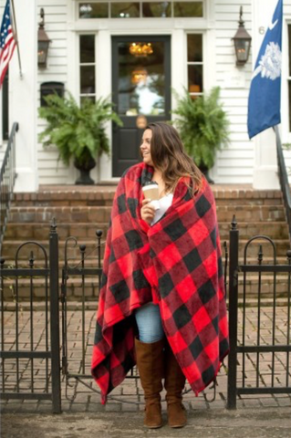 Stay Cozy Buffalo Plaid Blanket