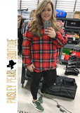 Rad in Plaid Pullover
