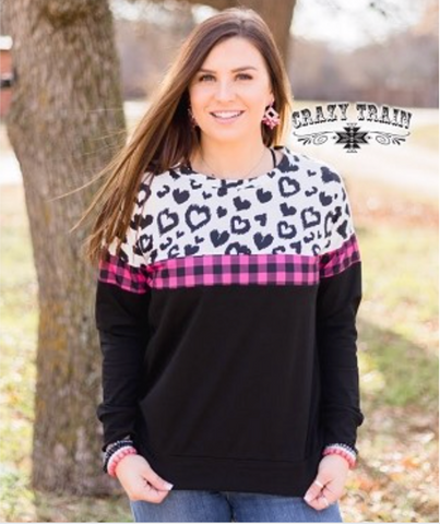 Leopard Love Pullover