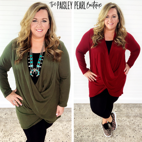 Sharon Buttery Soft Tunic-PREORDER