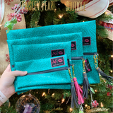 MJ Bags 4 Sizes-Turquoise Dream