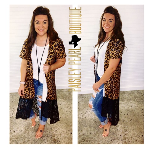 Wild and Wonderful Leopard Cardigan