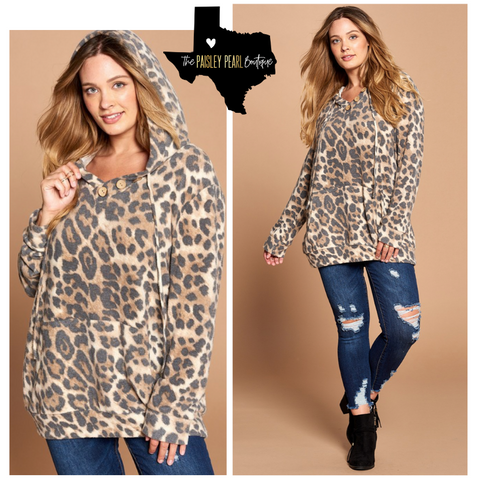 Forever Yours Leopard Hoodie