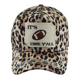 Football Time Leopard Hat