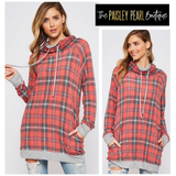 Becca Plaid Pullover