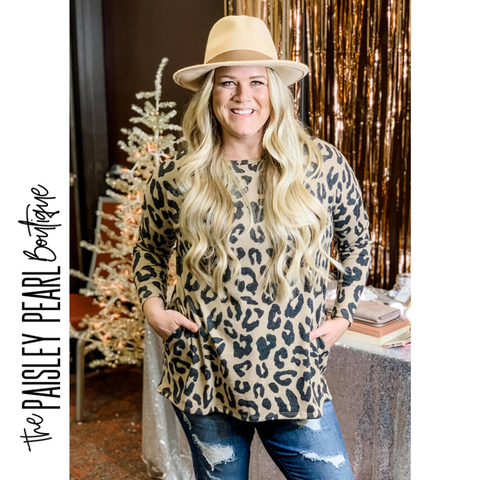 Spotted In Love Tunic Top