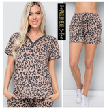 Lazy Leopard Lounge Set