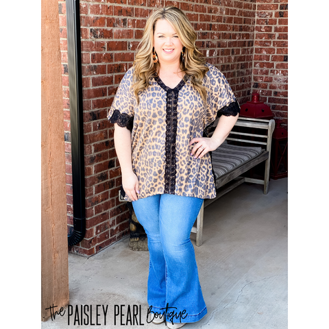 Shelby Leopard Top