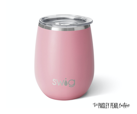 Matte Blush Stemless Cup (14oz)