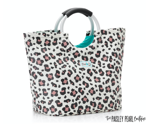 Luxy Leopard Loopi Tote Bag