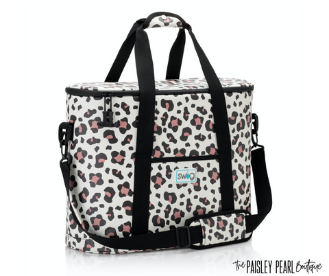 Luxy Leopard Family Cooler Tote