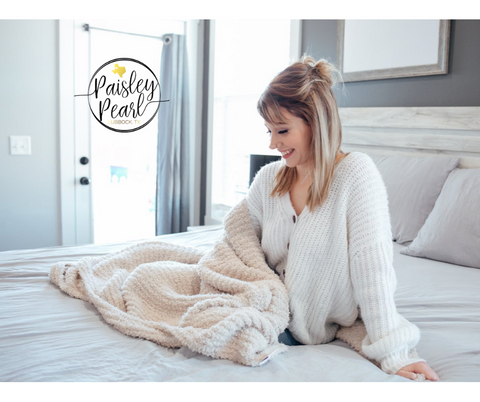 The Luxe Blanket-Solid Neutral (PREORDER)