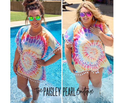 Bahama Mama Tie-Dye Cover Up