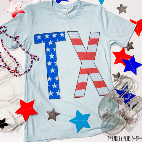 Patriotic Texan Tee