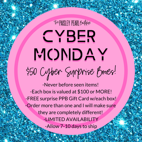 Cyber Monday-Cyber Surprise Box