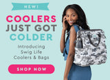 Luxy Leopard Wireframe Backpack Cooler