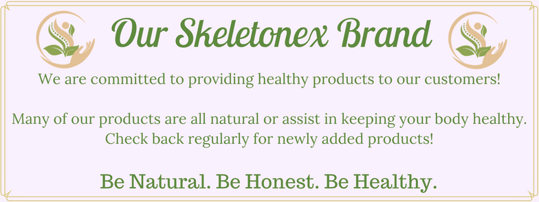 The Skeletonex Brand | Healthy & Natural Products