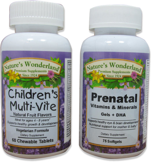 Children's Multi-Vite & Prenatal Vitamin Bundle