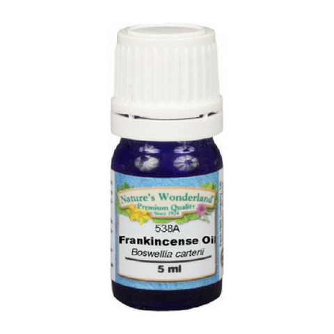 Frankincense Essential Oil - 5 ml (Boswellia species) | Calming, Restorative, Meditative