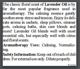 Lavender Flower Essential Oil - 5 ml (Lavandula officinalis) | Calming & Normalizing
