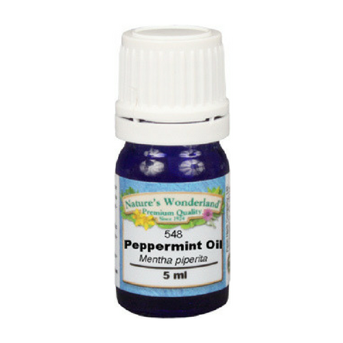 Peppermint Essential Oil - 5 ml (Mentha piperita) | Nausea, Concentration, Refreshing