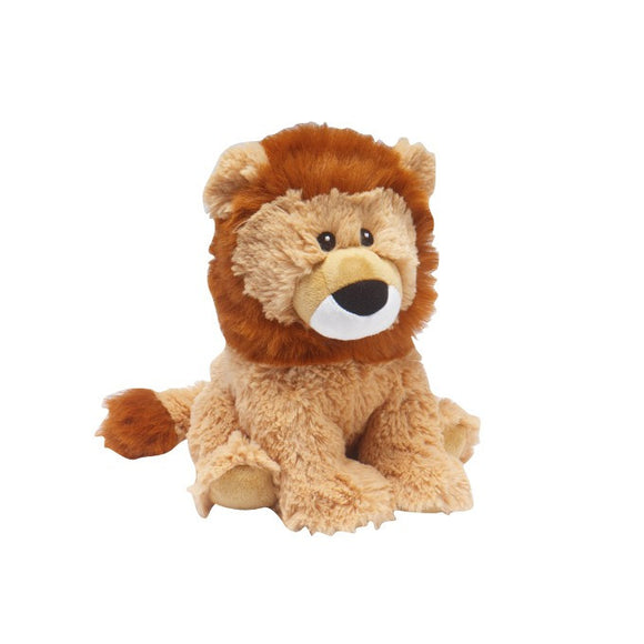 Warmies® Cozy Plush Lion | Heat Therapy Toy | Heatable Toy | Lavender | Flaxseed | Microwaveable Hot Pack