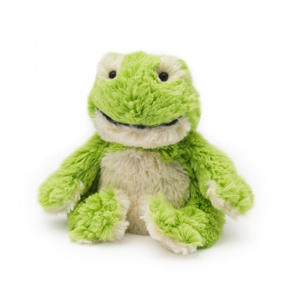 NORMAN JR - Warmies® Cozy Plush Junior Frog