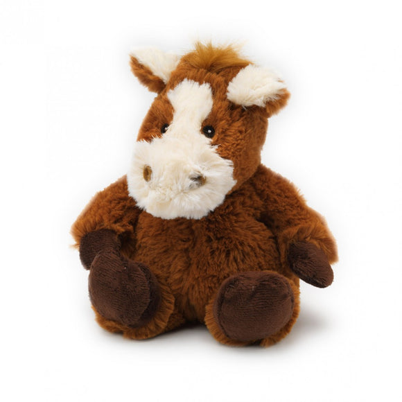 HILLARY JR- Warmies® Cozy Plush Junior Horse