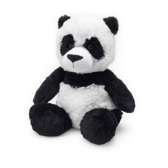 Warmies® Cozy Plush Panda | Heat Therapy Toy | Heatable Toy | Lavender Scented Microwaveable Toy