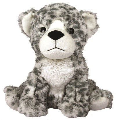 Warmies® Cozy Plush Snow Leopard | Heat Therapy Toy | Heatable Toy | Intelex | Lavender | Flaxseed | Microwaveable