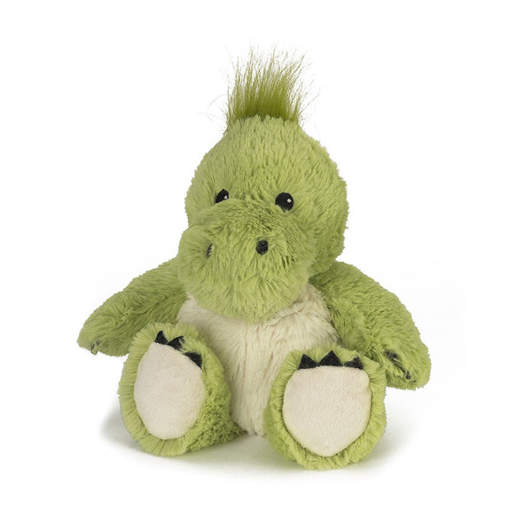 DEANO - Warmies® Cozy Plush Dinosaur | Heat Therapy Toy | Heatable Toy | Intelex | Lavender | Flaxseed